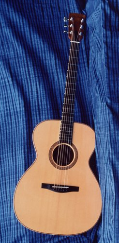 Perlman custom made guitars, detail photo